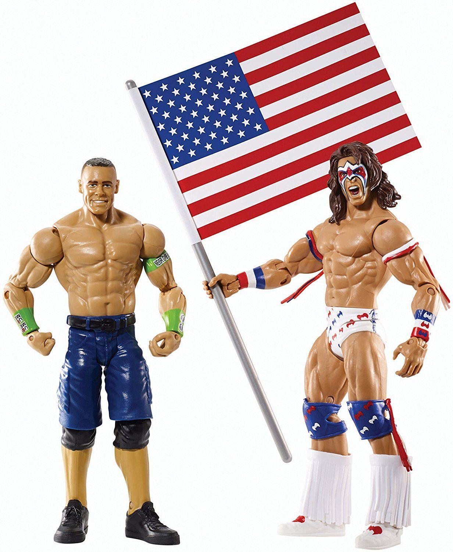 Uncategorized John Cena Games For Kids wwe battle pack series 31 john cena vs ultimate warrior with usa flag