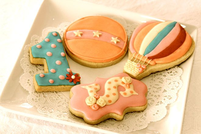 Vintage Bubble Gum Circus Party Feature: The Cookies