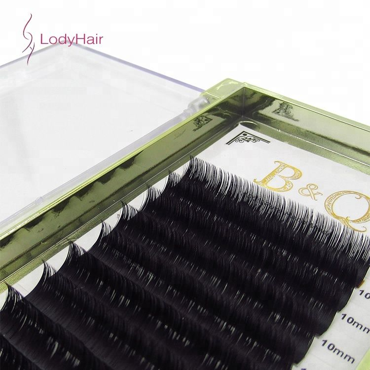 Wholesale Automatic Flowering Lashes Cosmetic Lash Fan Custom
