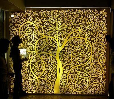 Corian Backlit Panel Sra Furnisher Solution Corian Interior Design Living Room Wall Panels