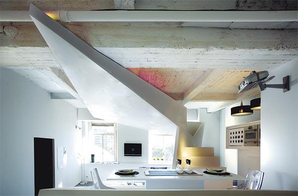 A Super Stylish Small Space Apartment http://maisonmatiere.com/a-super-stylish-small-space-apartment/  #MaisonMatiere #Home #Design #Decor