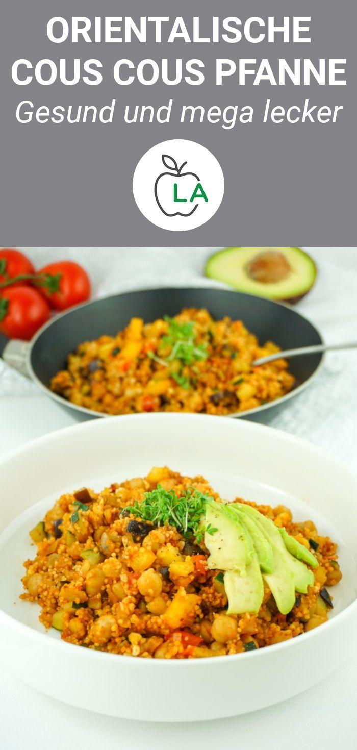 Cous Cous Gemüsepfanne - gesundes, veganes Rezept