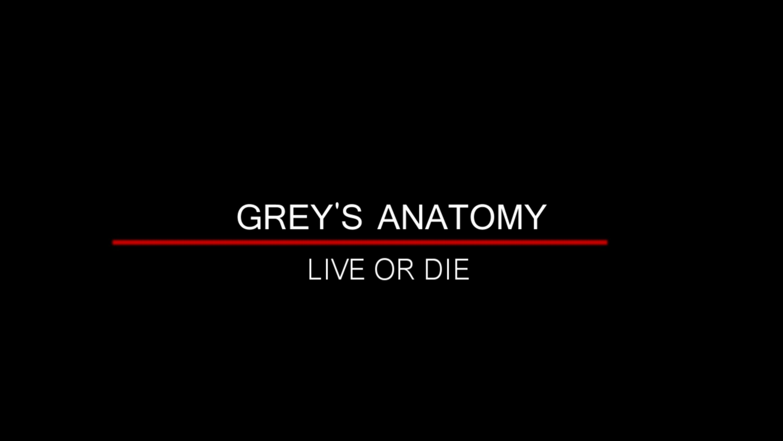 Grey\'s Anatomy   Live or Die   ❤ Grey\'s Anatomy ❤   Pinterest