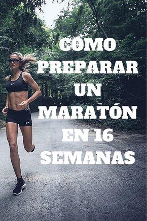 plan de entrenamiento maraton 16 semanas