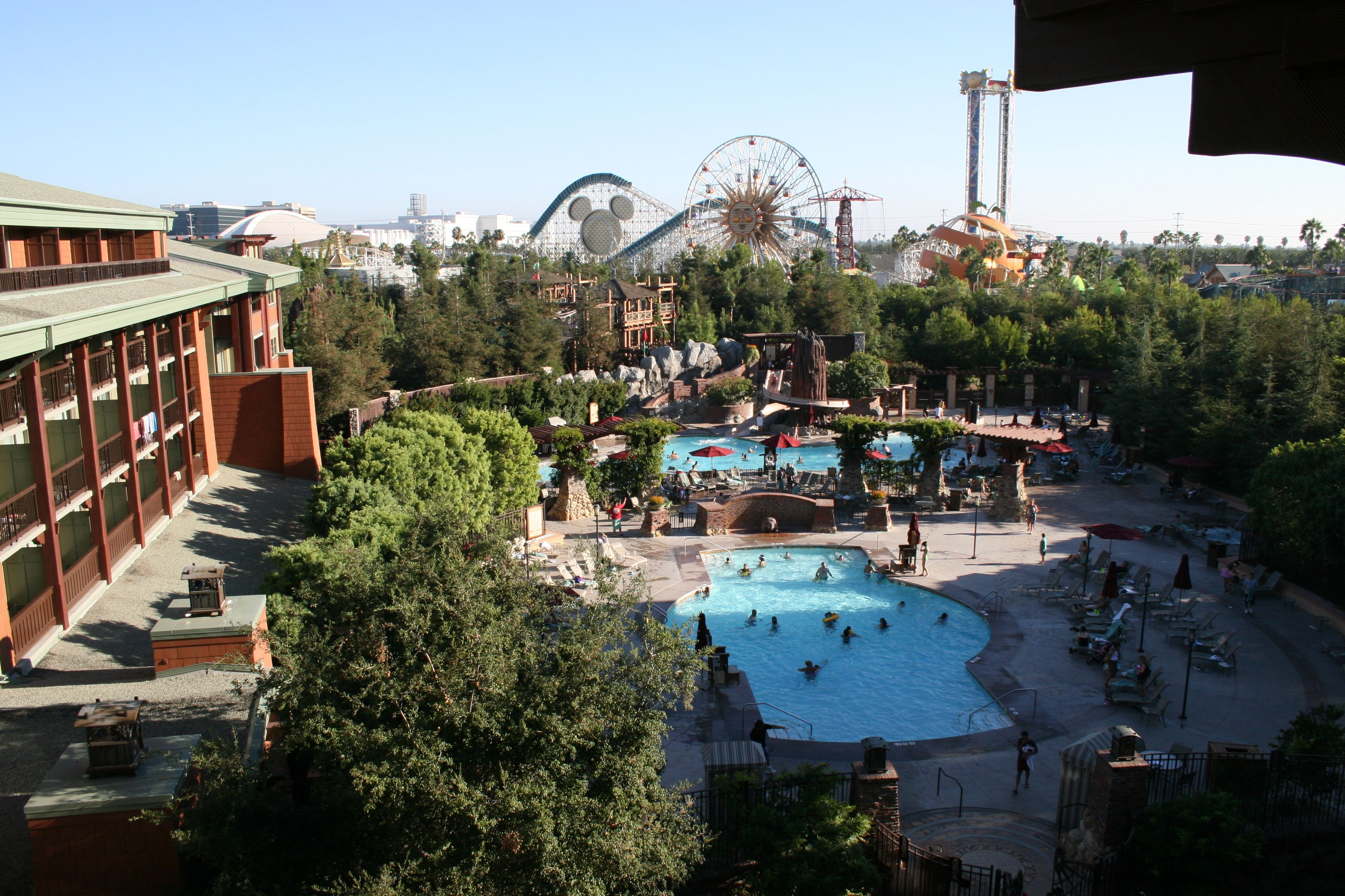 Grand Californian Hotel With Kim The Kids Only Disney Inside A Theme