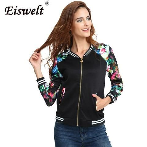 Ladies Quilted Button Baseball Bomber hooded hoodie Womens Jacket Top S M L XL