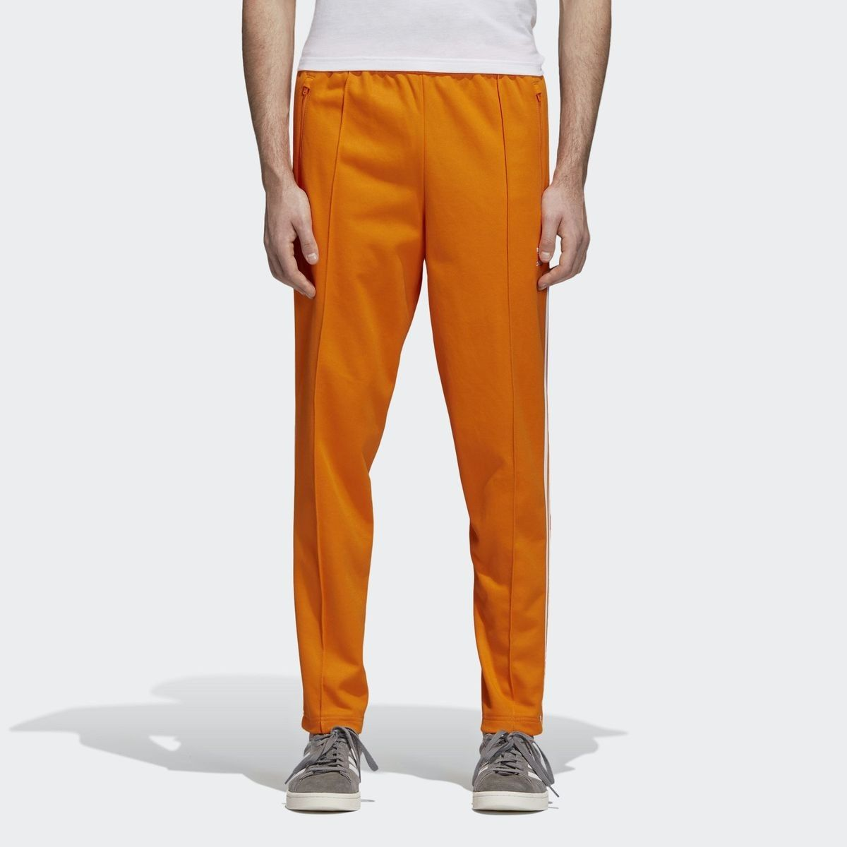 pantalon adidas orange homme