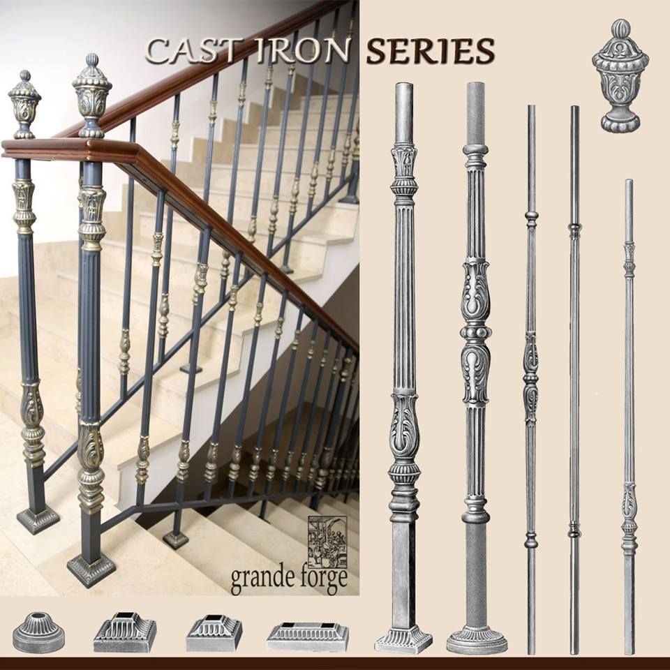 These Cast Iron Posts And Balusters From Grande Forge Are A Genuine Work Of Art They Can Be Painted Or Patinated Click Here To View Our Collection Of The Cas