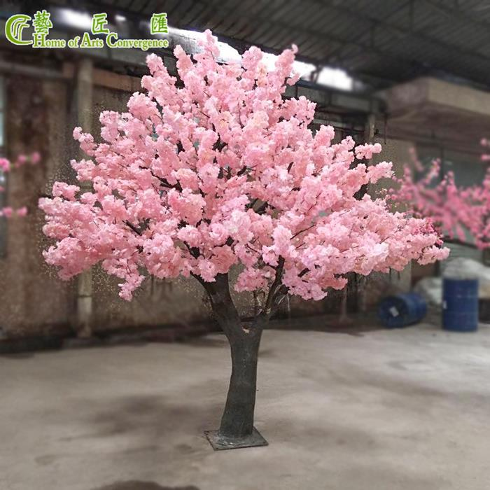 China Fake Cherry Blossom Tree Large Event Decorations Pink Suppliers Manufacturers Factory Customized Pink Blossom Tree Cherry Blossom Tree Blossom Trees