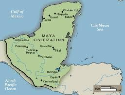 some of the major sites of the mayan civilization are palenque