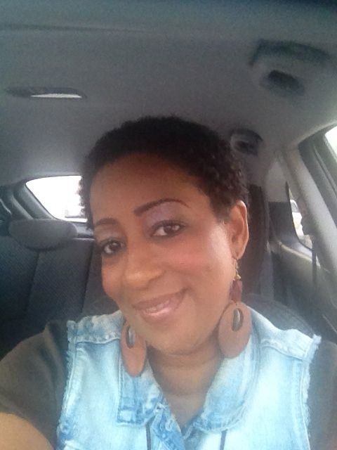 First day of my big chop October 9, 2014