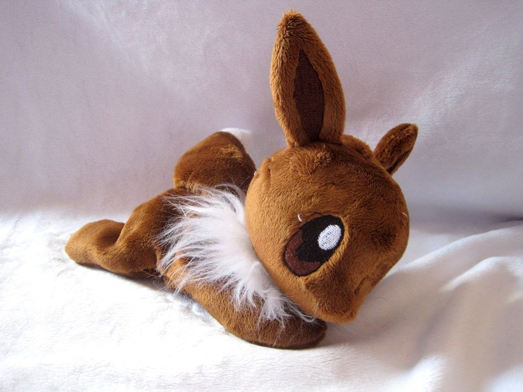 db6480855 Eevee Beanie Baby by FollyLolly on deviantART | Crafts | Plushies ...