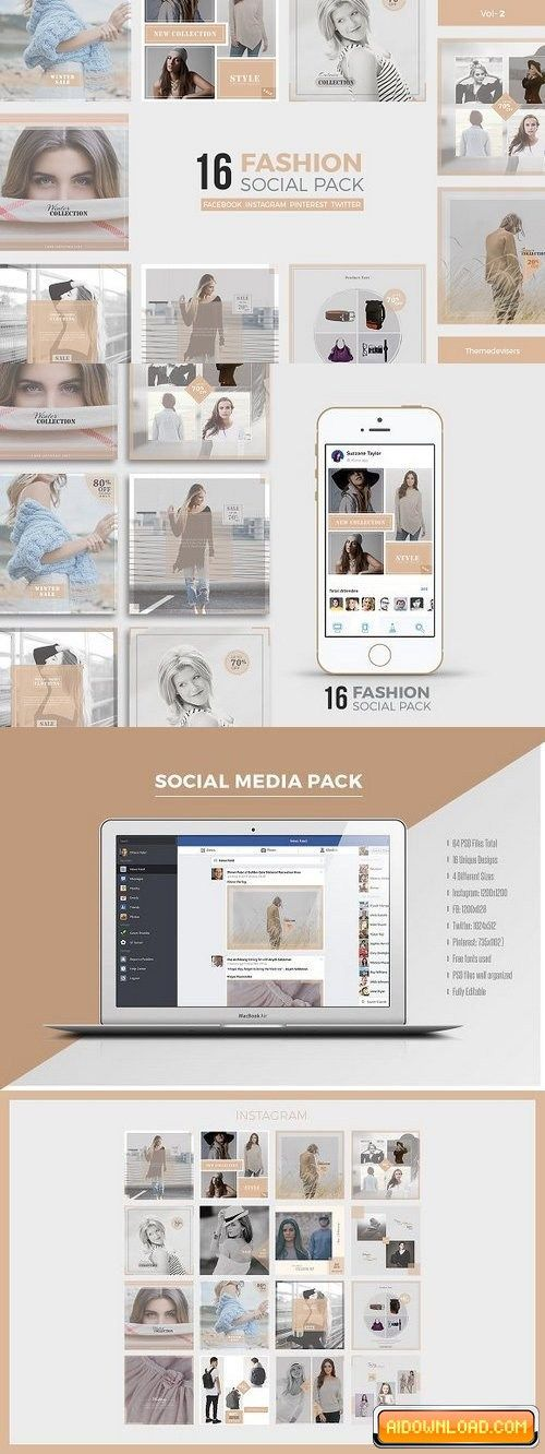 Social Media Pack Free Download Free Graphic Templates