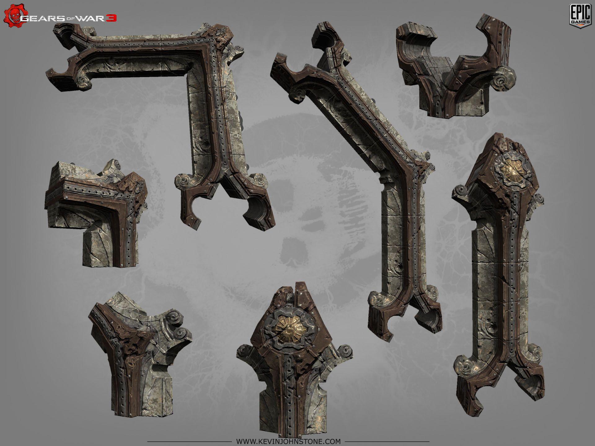 G3_Spirelows2.jpg (1920×1440) Gears of War 3 by Kevin Johnstone http://www.kevinjohnstone.com/