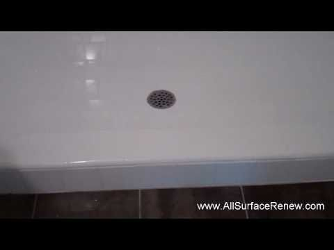 How To Renew An Ugly Shower Stall  Youtube  Bathroom Remodel New Youtube Bathroom Remodel Inspiration