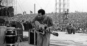 A final farewell to the incredible Richie Havens who began Woodstock in 1969