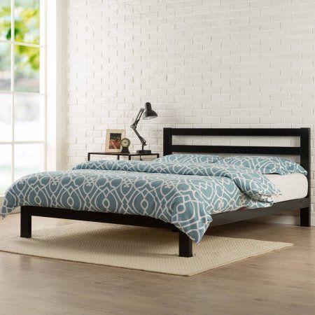 Modern Studio 10 Quot Metal Platform Bed With Headboard