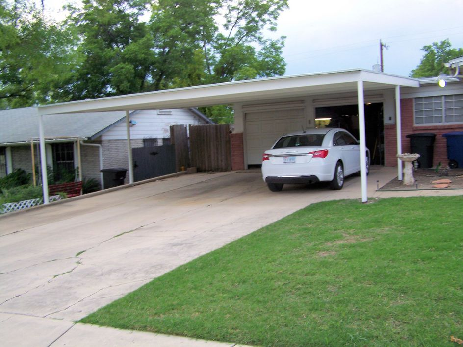 Metal Carports Attached to House 30 x 24 Attached Lean