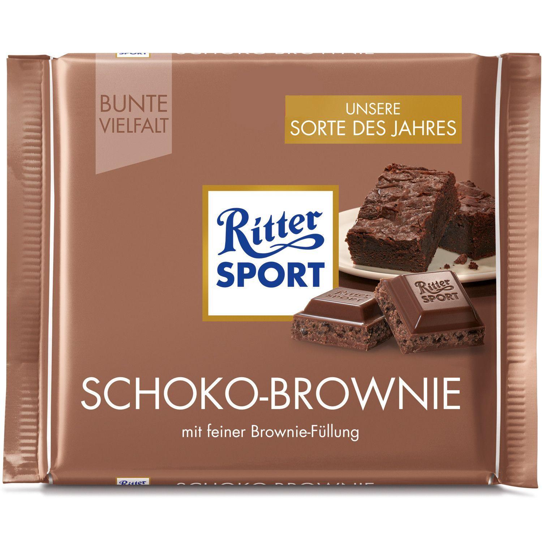 Ritter Sport Chocolate Brownie chocolate bar 100gMade in