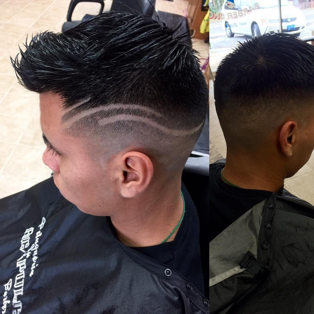 Erstaunliche kurze verblassene haarschnittentwürfe