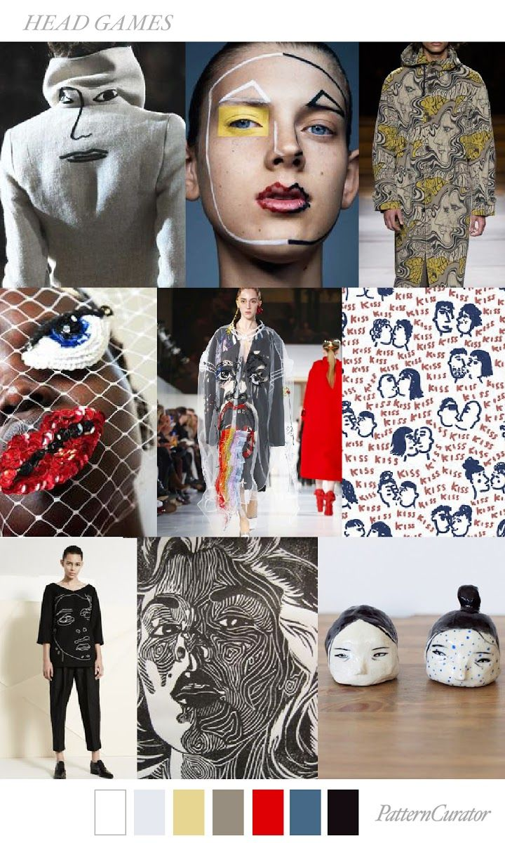 TRENDS // PATTERN CURATOR - HEAD GAMES . FW 2018 (FASHION ...