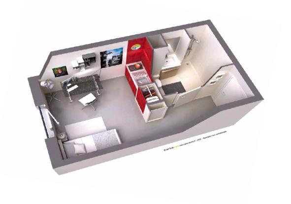 Comment revendre son appartement meubl en r sidence - Logement etudiant strasbourg meuble ...
