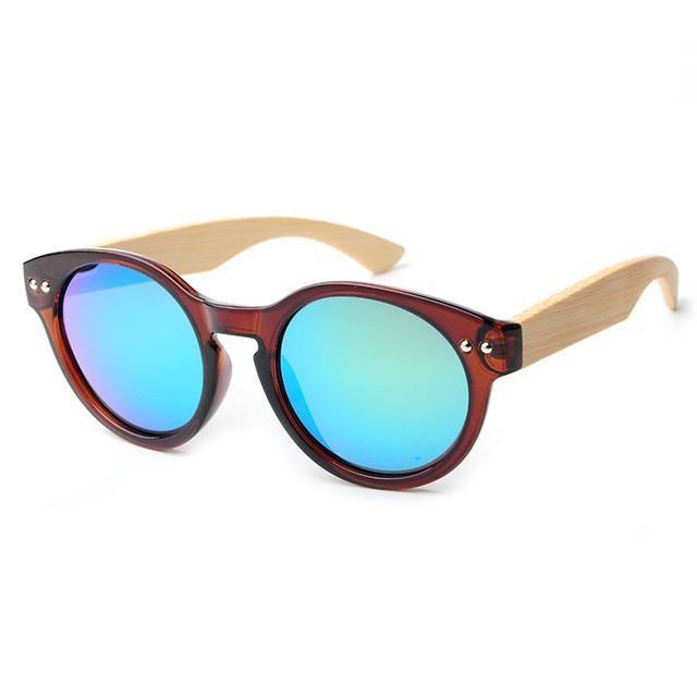 Women Wooden Sunglasses