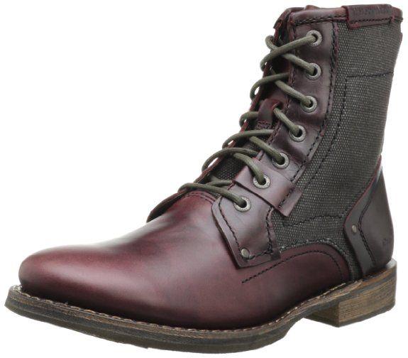 Ben Sherman Train Herren Leder Stiefel Desert Boots