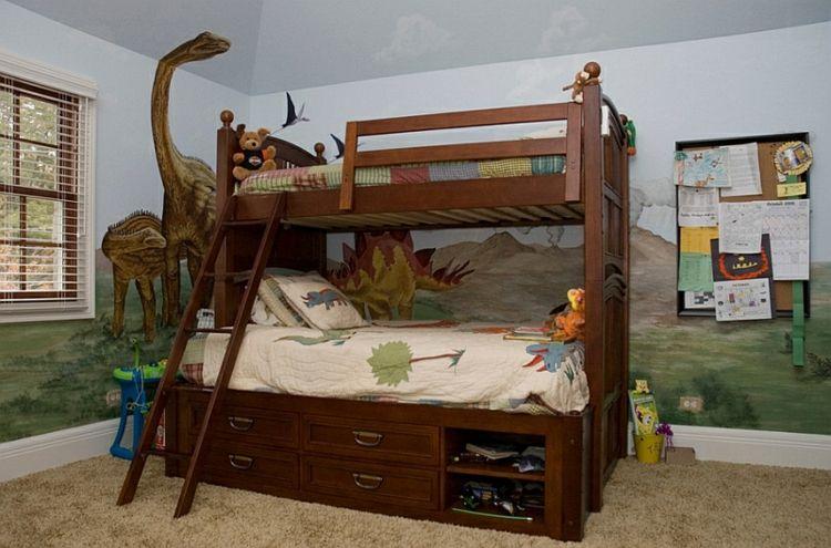 Kinderzimmer Wandtattoo – beleben Sie den Raum mit Dinosaurier ...