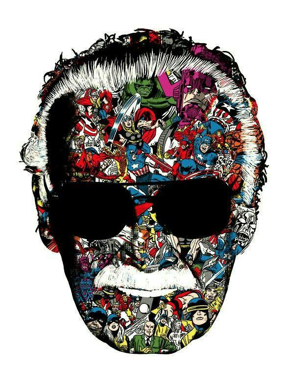 Stan Lee 12x18 Art Poster Heroes Marvel Spiderman Hulk Iron Man Avengers Thor Marvel Comics Wallpaper Iron Man Avengers Avengers Poster
