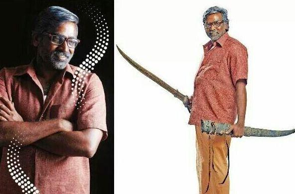 Vijay Sethupathi's new look in Orange Mittai
