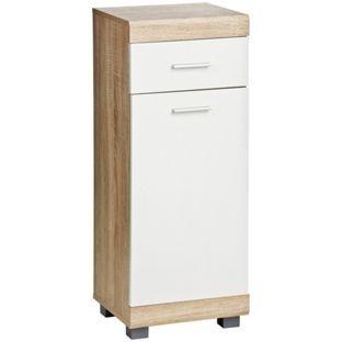 Buy Premier Housewares Whitewash Oak Effect Floorstanding Unit At