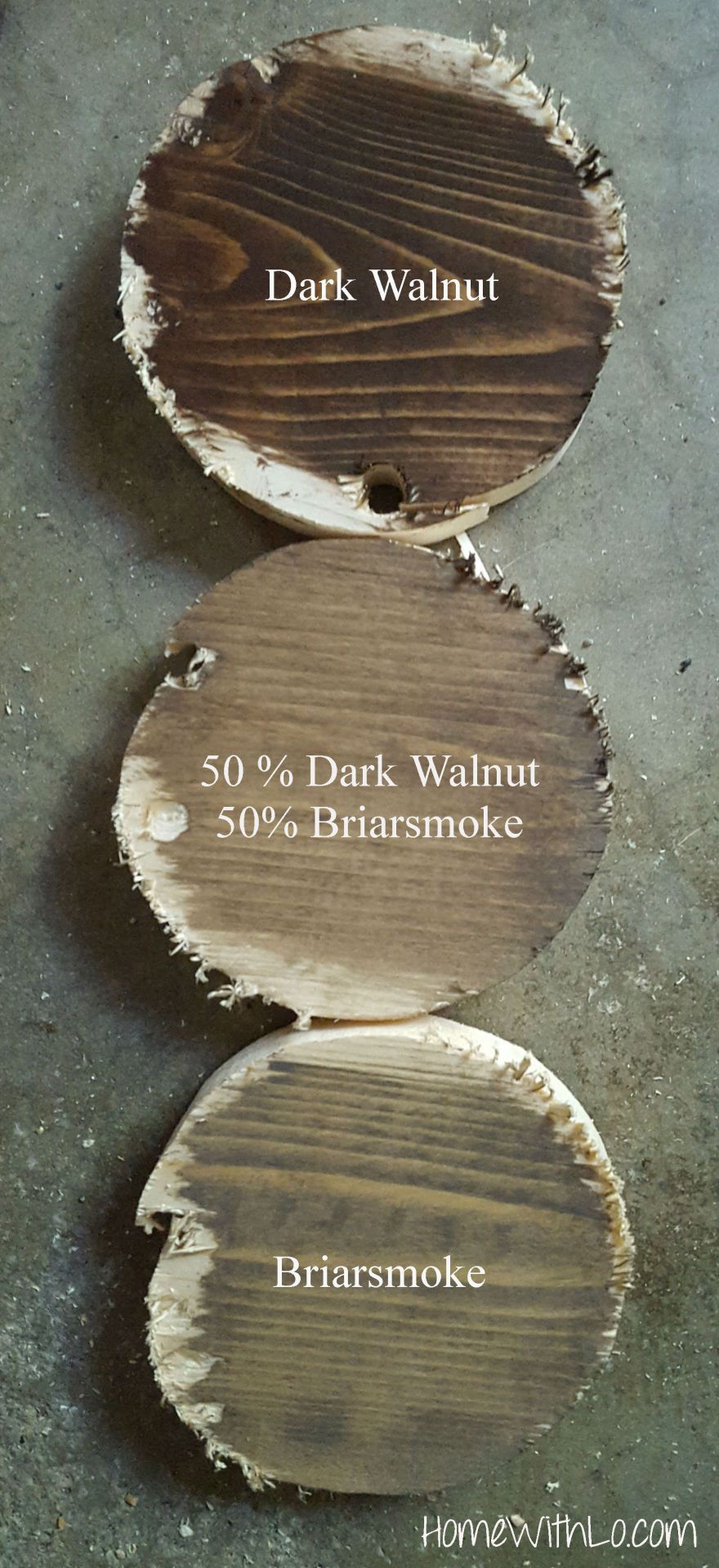 Varathane Wood Stain In Dark Walnut Briarsmoke And A Mix Of The Two More Information At Homewithlo