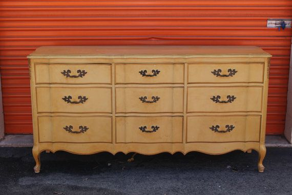 French Provincial dresser by VintageRehabs on Etsy