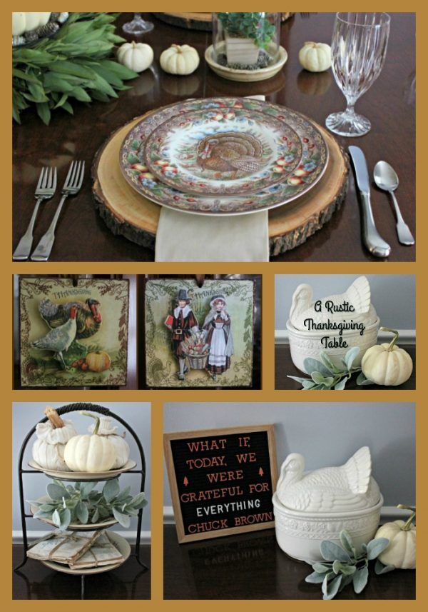 A Rustic Thanksgiving Table At Blue Willow House