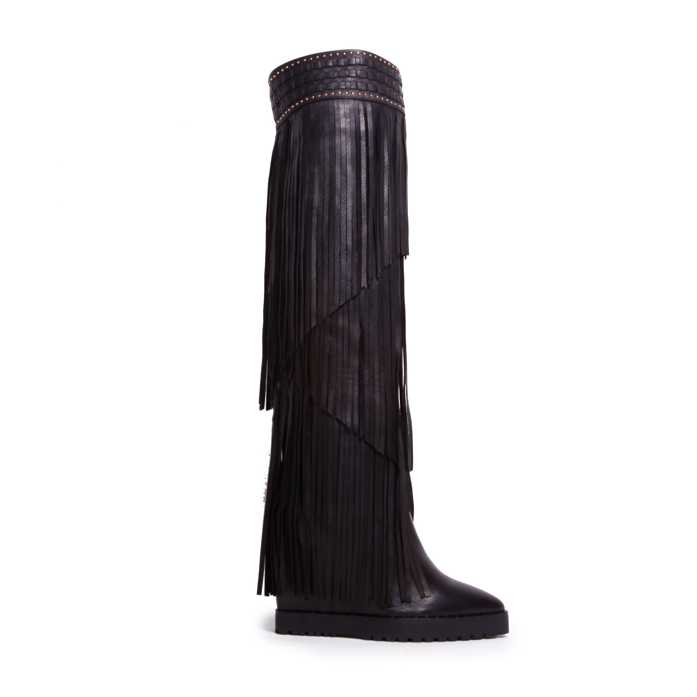 WilD Boot from the #IvyKirzhner Autumn/ Winter 2014 Collection