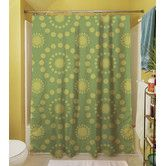 Found it at Wayfair - Tropical Breeze Patterns Polyester Shower Curtain