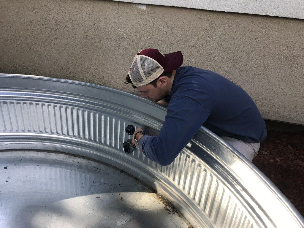 How To Install A Stock Tank Bathtub