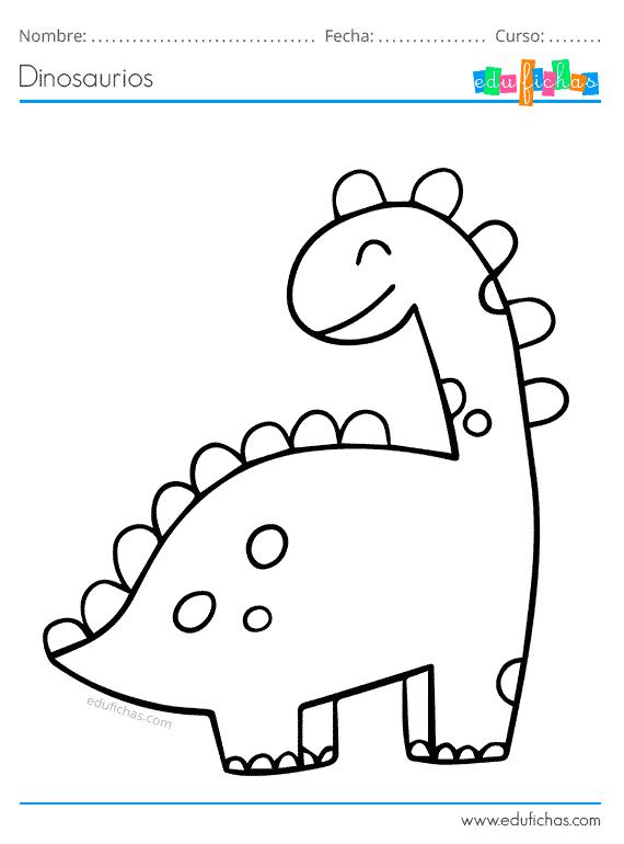 Dinosaurios Para Colorear Libro De Colorear Gratis Imprimir Pdf Imagenes Para Colorear Ninos Libro De Dinosaurios Para Colorear Colorear Gratis