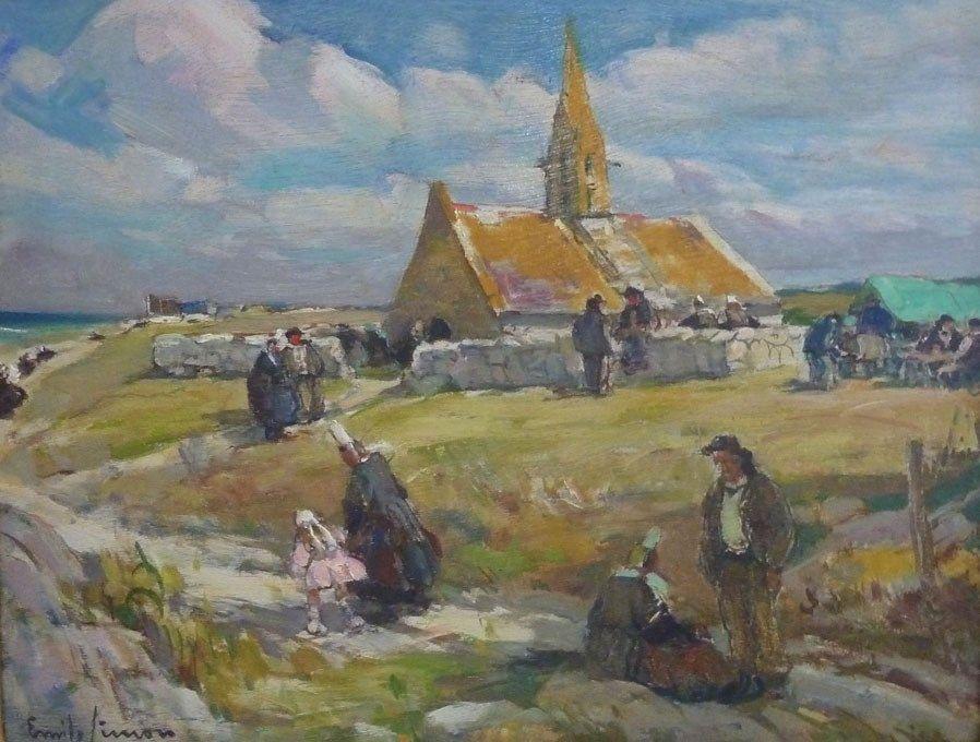 SQ.1998.1.509. Chapelle Saint-Vio Musée départemental breton / FONDS SQUIVIDAN - Musée dé ...
