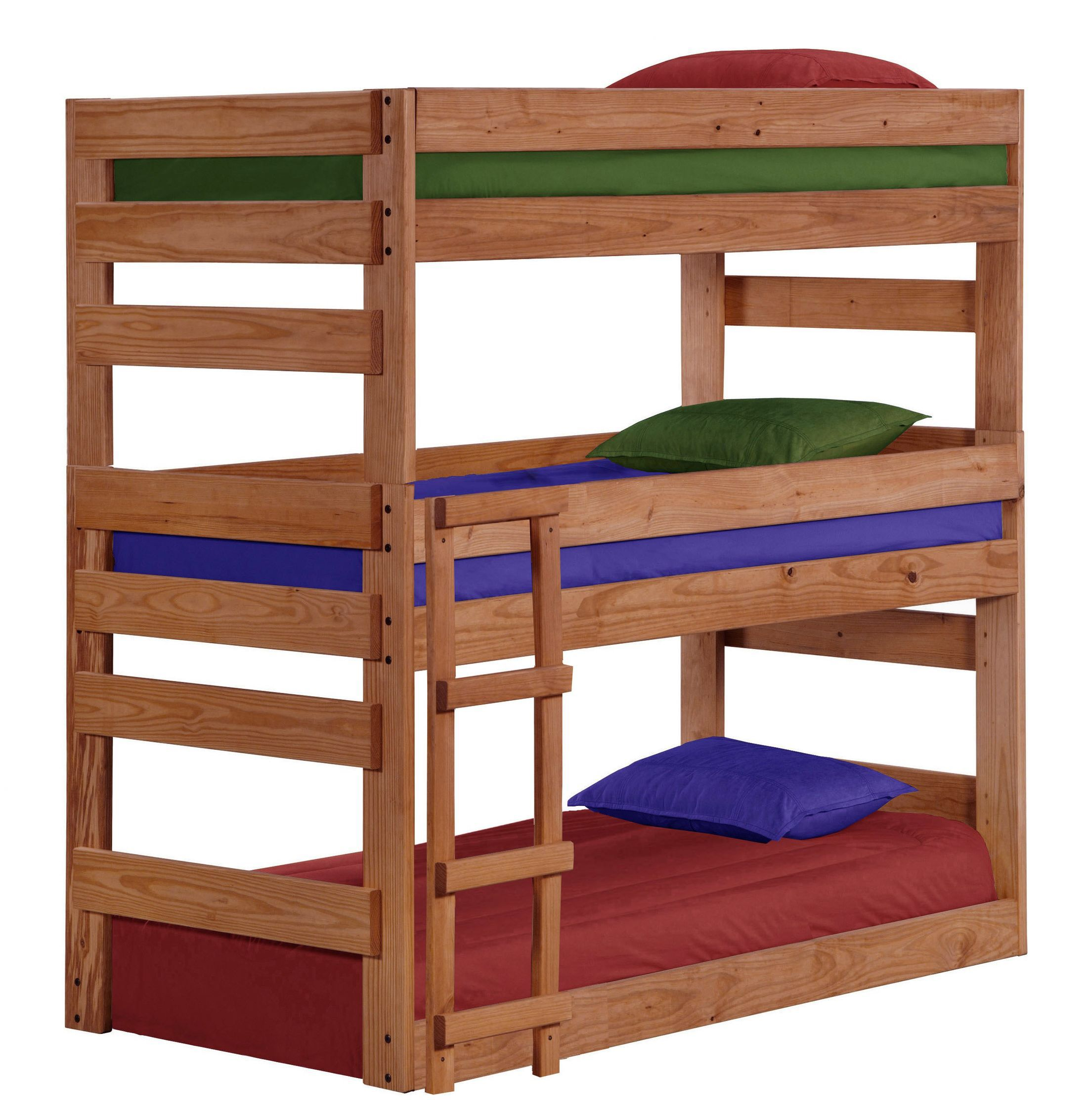 Twin Triple Bunk Bed home Pinterest