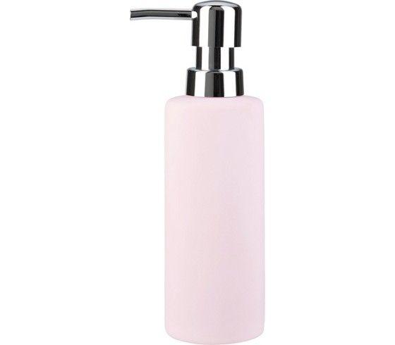 Seifenspender aus Keramik in Rosa - schlicht und praktisch fürs Bad