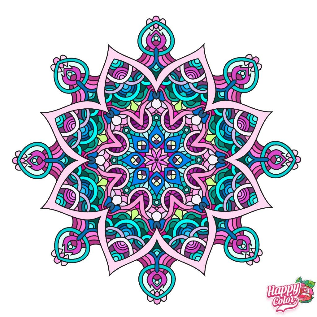 Pin By Leah Trimble On Art Therapy Coloring Book App Happy Colors Coloring Apps