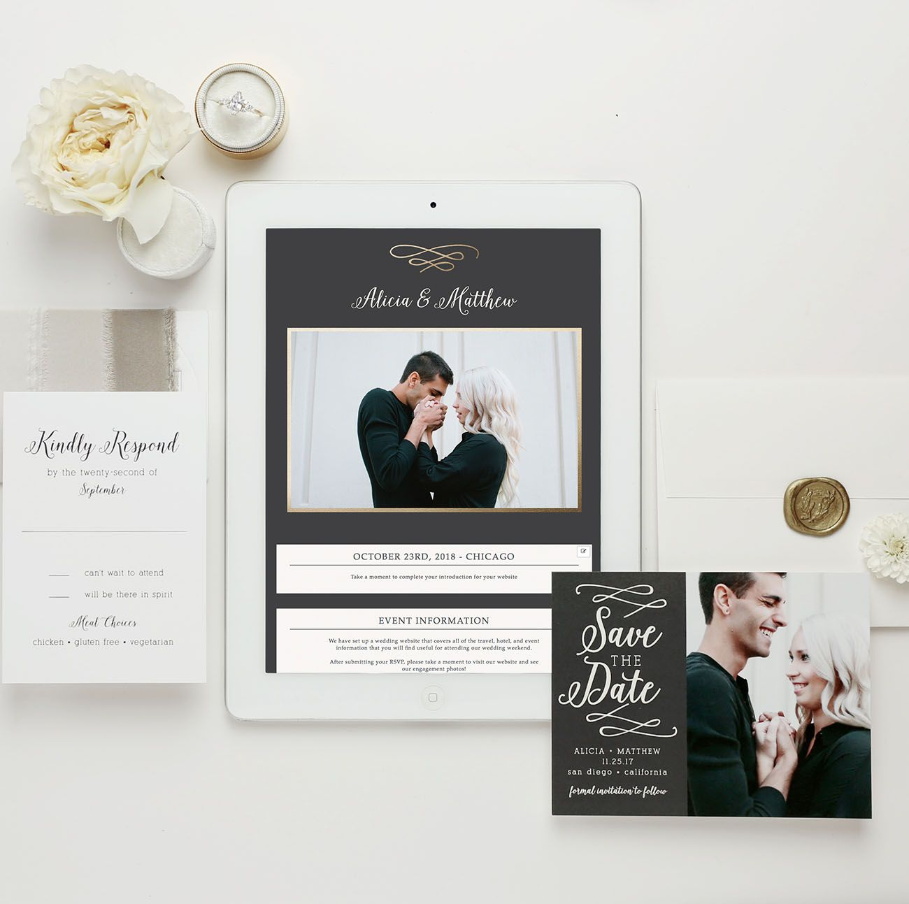 From Website to Invite, Basic Invite Has You Covered | Free wedding ...