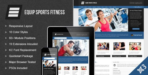 cool Equip Joomla Sports and Fitness Theme http://templates ...