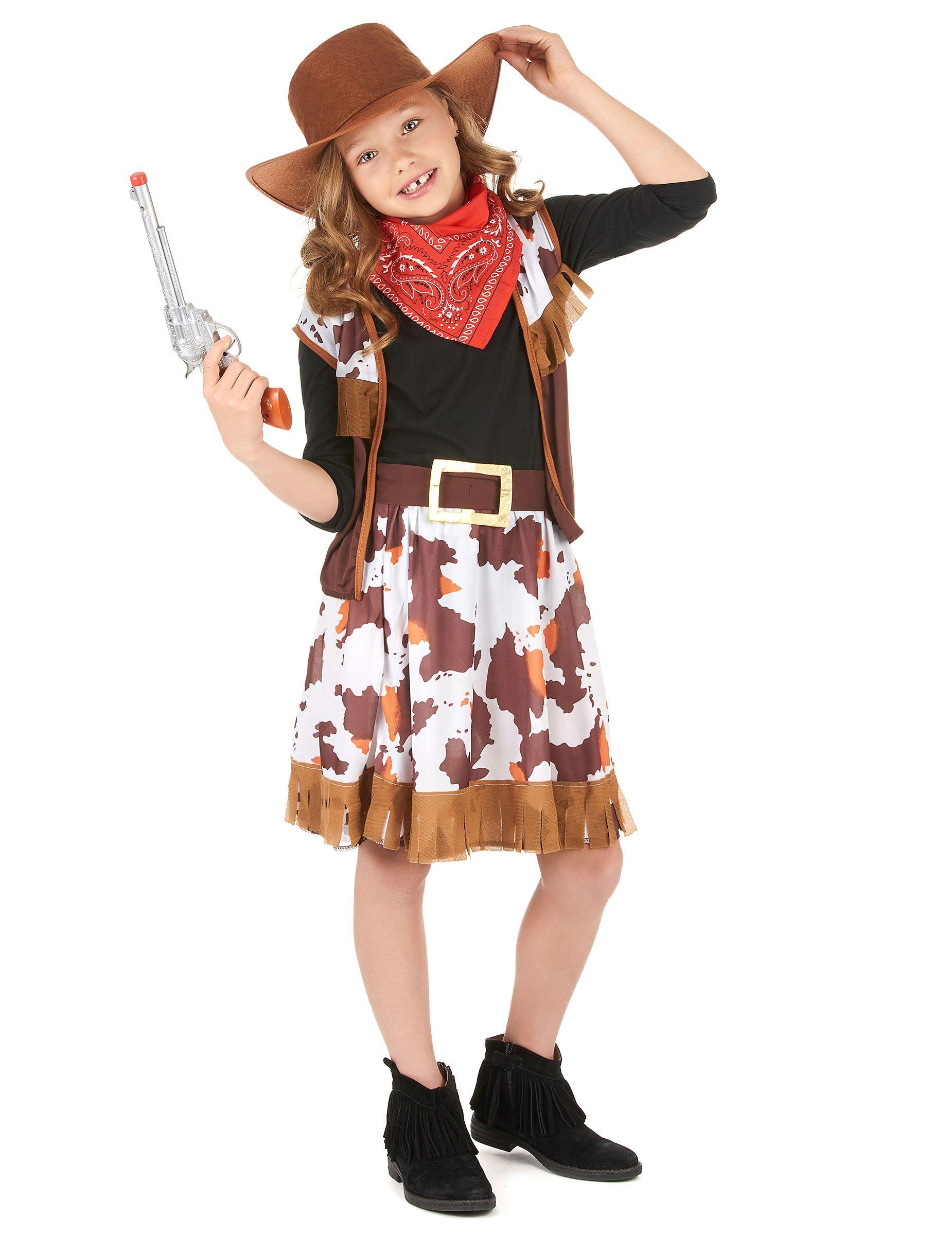 Disfraz vaquera niña: Disfraces niños,y disfraces originales baratos - Vegaoo