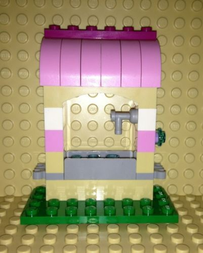 Lego-Friends-Mini-Figure-Animal-WATER-STALL-BUILDING-Custom-NEW-LOOSE-41003