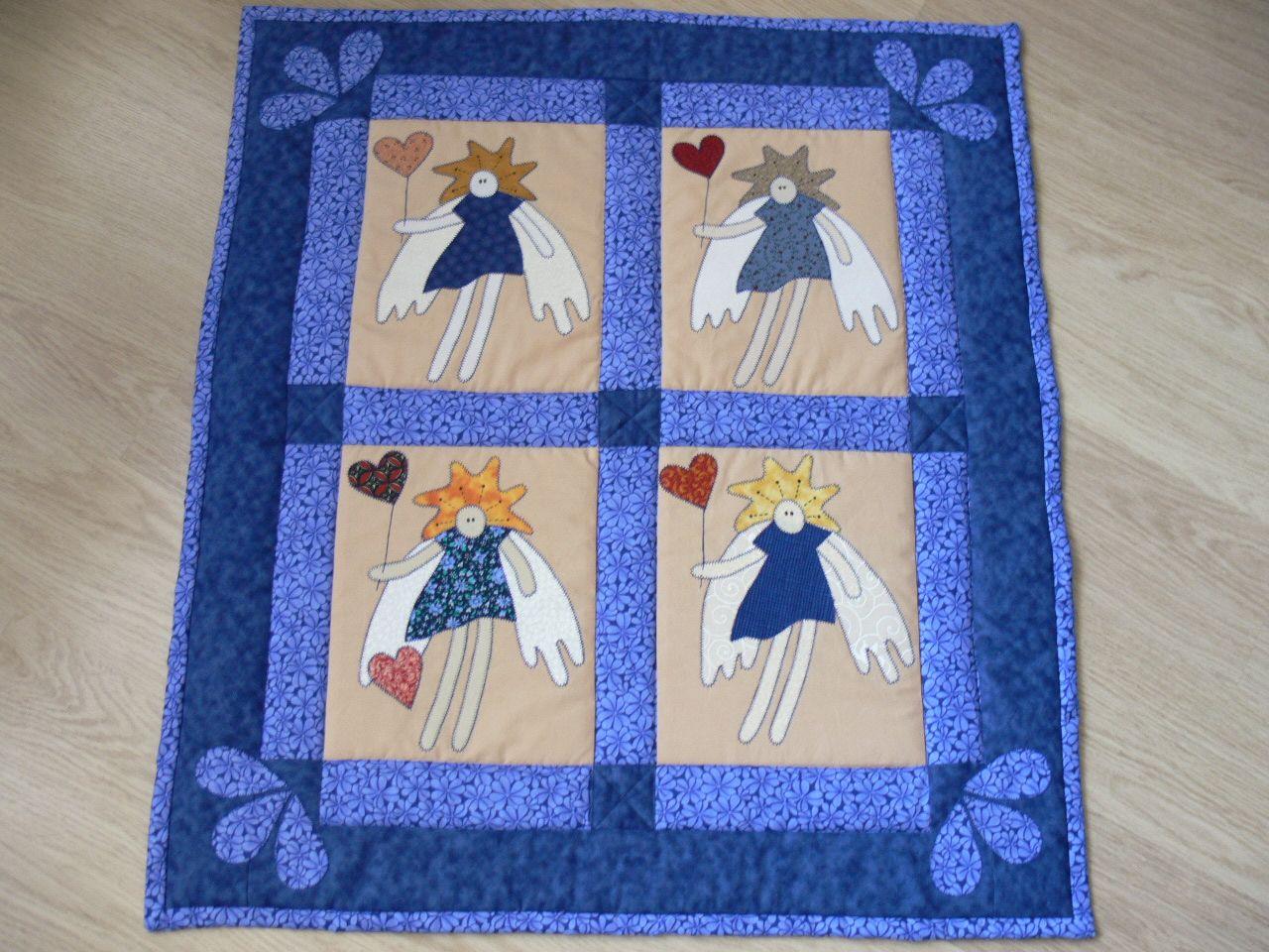 Andělé za oknem-dětská deka