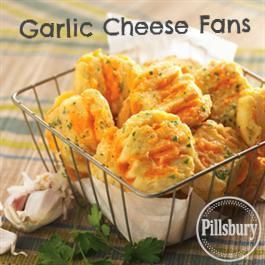 Garlic Cheese Fans from Pillsbury® Baking