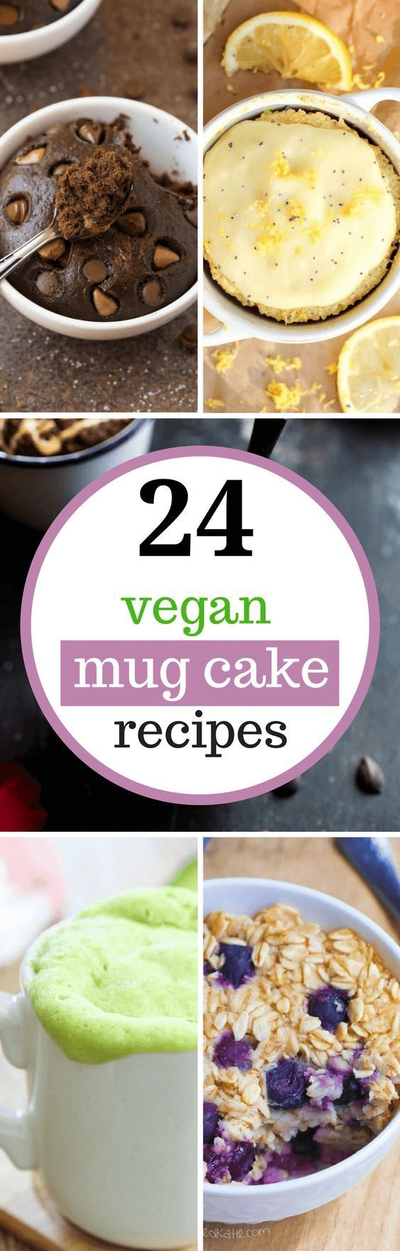 These Vegan Mug Cake Recipes are dairy free with no eggs ...